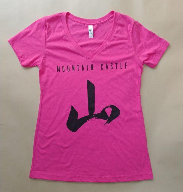 Women's Mountain Castle t-shirt